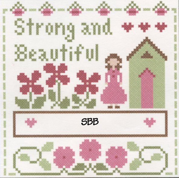 Clearance Crescent Colours & Little House NeedleworksStrong & Beautiful