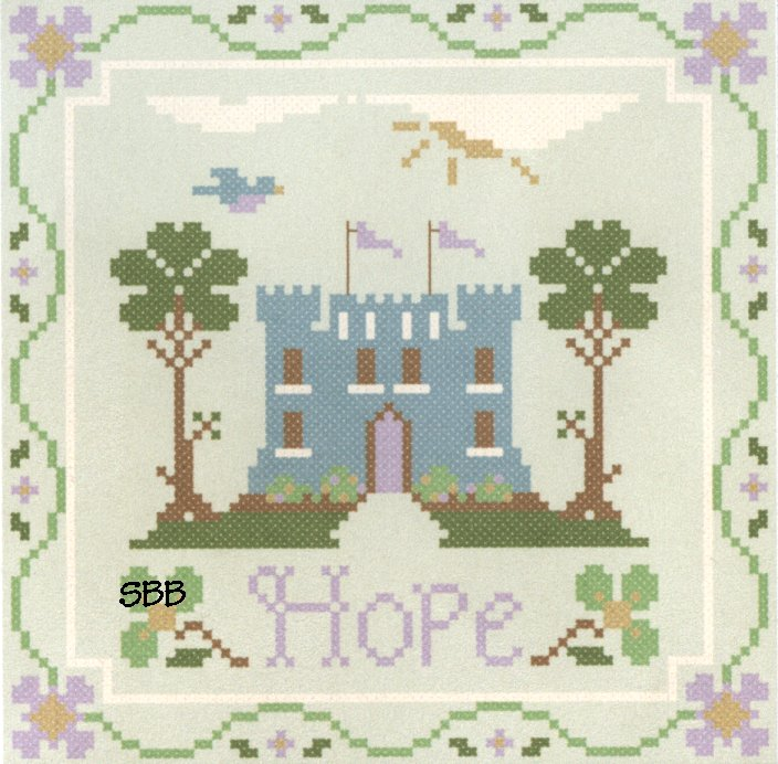 Clearance Crescent Colours & Little House NeedleworksHope