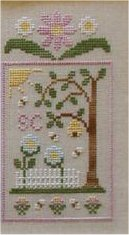 Clearance Crescent Colours & Country Cottage Needleworks#5 Honeybee Garden