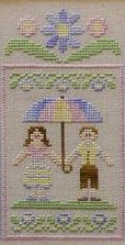 Clearance Crescent Colours & Country Cottage Needleworks#2 Springtime Couple
