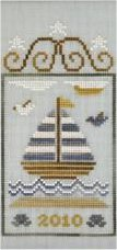 Clearance Crescent Colours & Country Cottage Needleworks #3 Sailboat