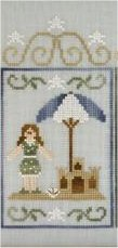 Clearance Crescent Colours & Country Cottage Needleworks#2 Sandcastle Scene