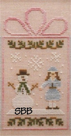 Clearance Crescent Colours & Country Cottage Needleworks#4 Frosty Couple