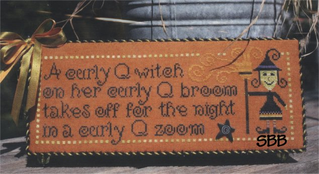 CherryWood Design Studio Closeout Curly Q Witch