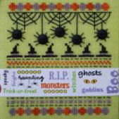 CherryWood Design Studio Closeout Halloween Ribbons Limited Edition