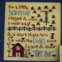 CherryWood Design Studio Closeout I'm A Little Scarecrow