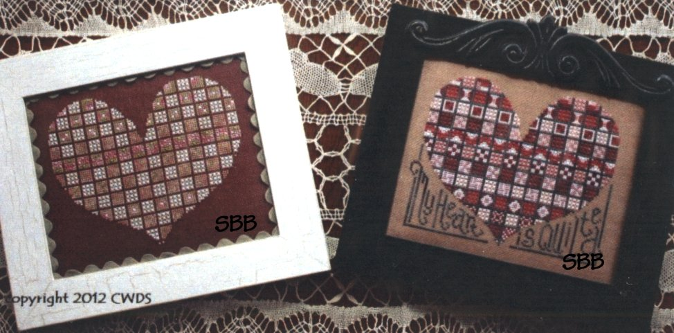 CherryWood Design Studio Closeout My Heart Is Quilted