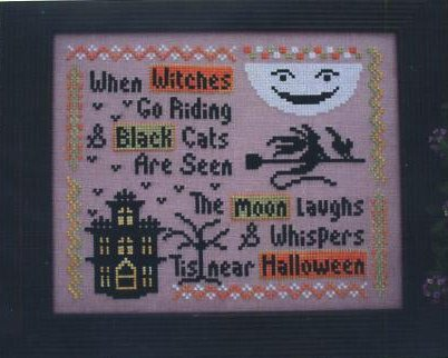CherryWood Design Studio Closeout When Witches Go Riding
