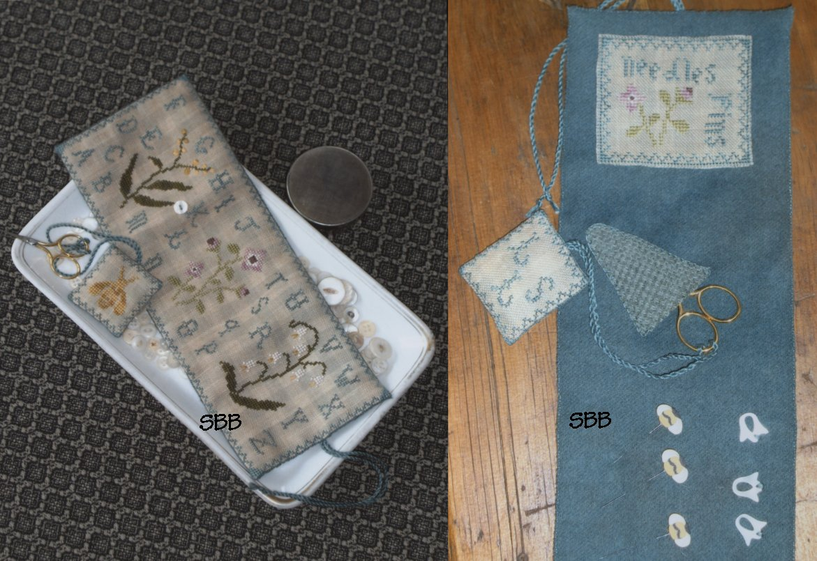 Clearance Chessie & Me Botanical Sewing Pocket & Fob