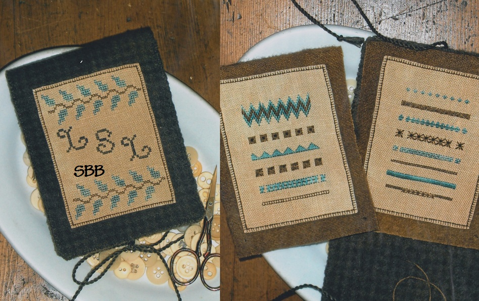 Clearance Chessie & Me Needlebook Of Stitches