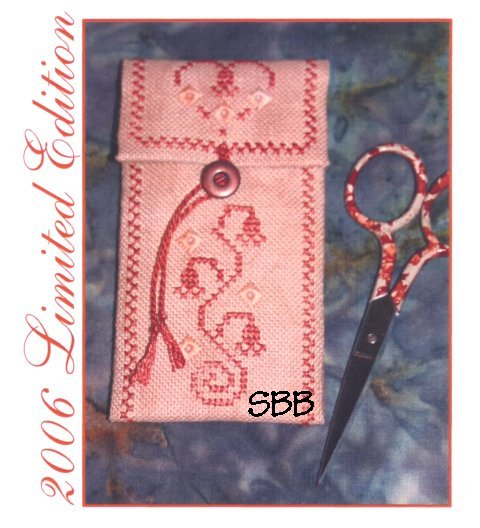 Clearance The Cat's Whiskers Design Studio Red Desert Scissor Pocket Chartpack