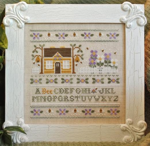 Country Cottage Needleworks A Bee C Sampler