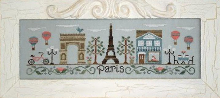 Country Cottage Needleworks Afternoon In Paris