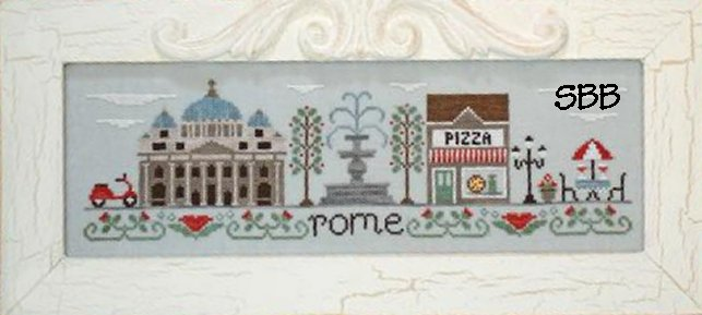 Country Cottage Needleworks Afternoon In Rome