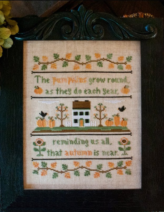 Country Cottage Needleworks Autumn Pumpkins