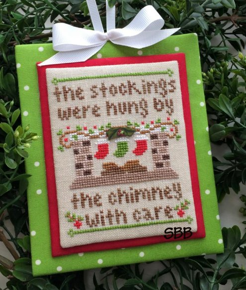 Country Cottage Needleworks Classic Collection #7 of 12 ~ By The Chimney
