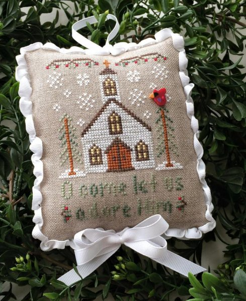 Country Cottage Needleworks Classic Collection #6 of 12 ~ Let Us Adore Him