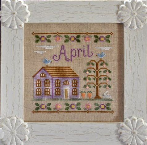 Country Cottage Needleworks Cottage of the Month Series ~ April