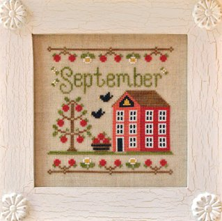 Country Cottage NeedleworksCottage of the Month Series ~ September