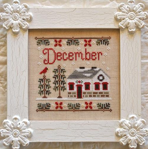 Country Cottage NeedleworksCottage of the Month Series ~ December