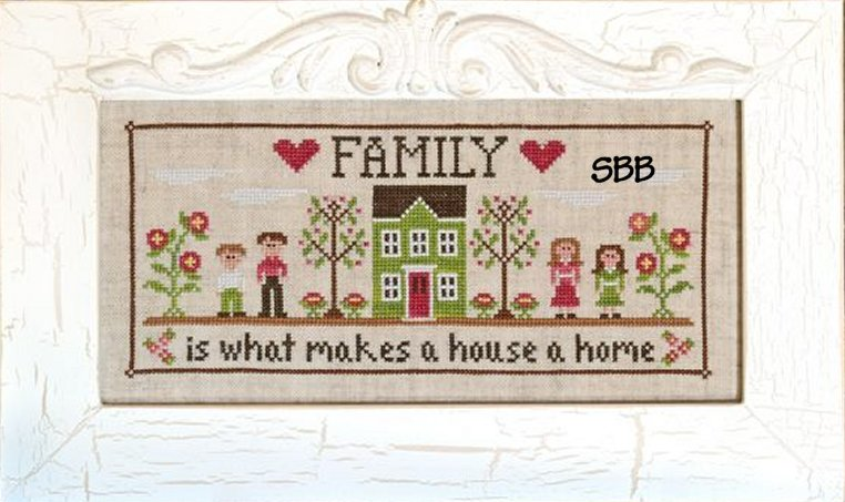 Country Cottage Needleworks Family Home