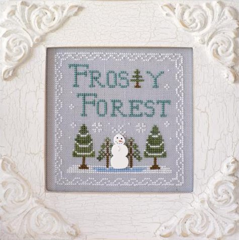 Country Cottage Needleworks Frosty Forest #9 ~ Frosty Forest