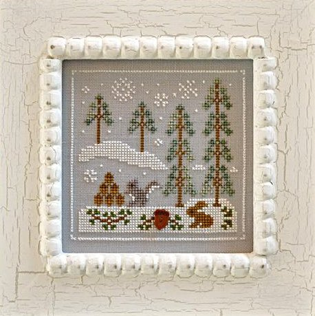 Country Cottage Needleworks Frosty Forest #4 ~ Snowy Friends
