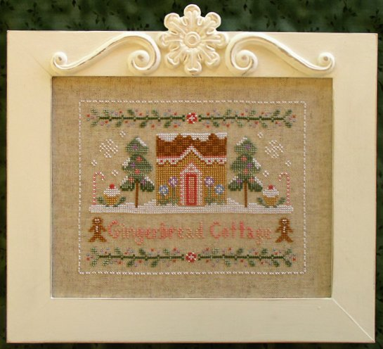 Country Cottage Needleworks Gingerbread Cottage