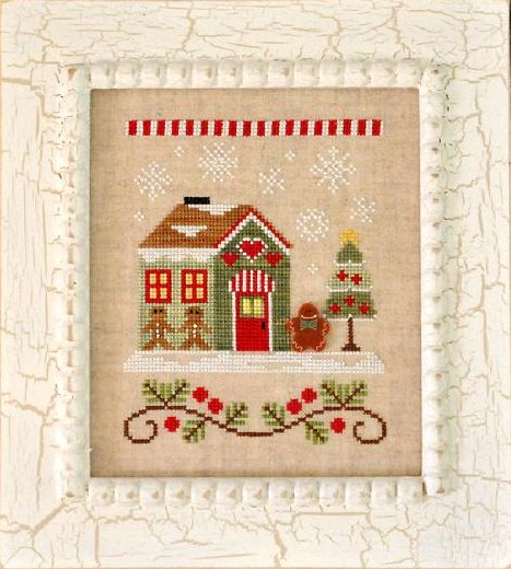 Country Cottage NeedleworksSanta's Village #10 ~ Gingerbread Emporium