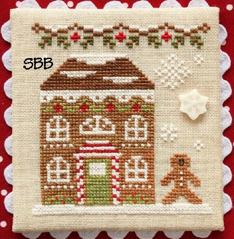 Country Cottage Needleworks Gingerbread Village #11 of 11 ~  Gingerbread House #8