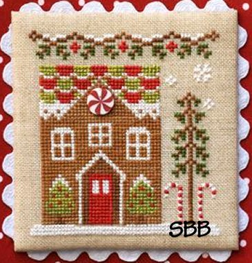 Country Cottage Needleworks Gingerbread Village #3 of 11 ~ Gingerbread House #1