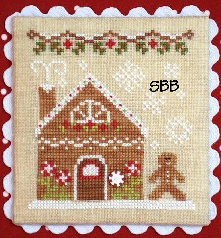 Country Cottage Needleworks Gingerbread Village #4 of 11 ~ Gingerbread House #2