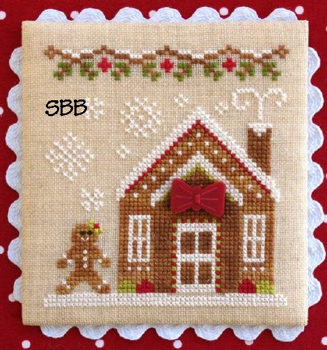 Country Cottage Needleworks Gingerbread Village #5 of 11 ~ Gingerbread House #3
