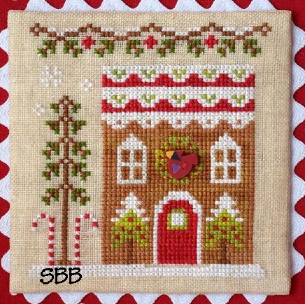 Country Cottage Needleworks Gingerbread Village #6 of 11 ~ Gingerbread House #4