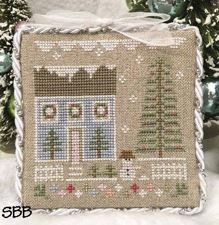 Country Cottage Needleworks Glitter House #1