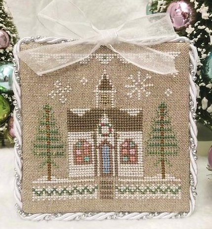 Country Cottage Needleworks Glitter House #5