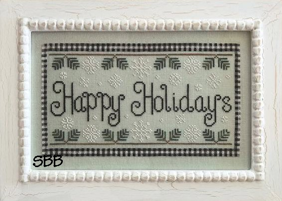 Country Cottage Needleworks Happy Holidays