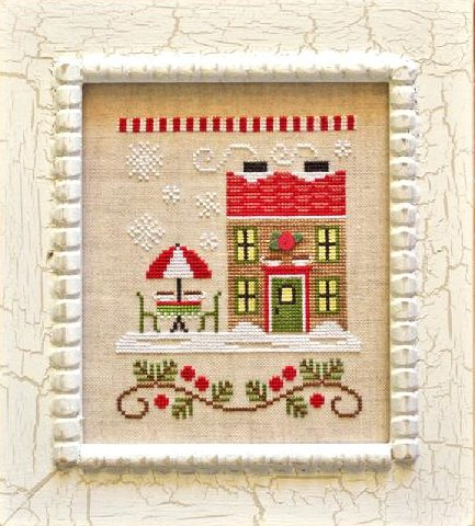 Country Cottage NeedleworksSanta's Village #12 ~ Hot Cocoa Cafe
