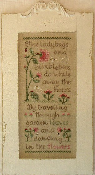 Country Cottage Needleworks Ladybugs and Bumblebees