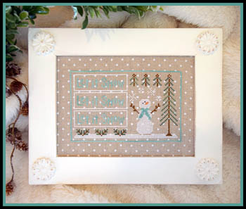 Country Cottage Needleworks Let it Snow
