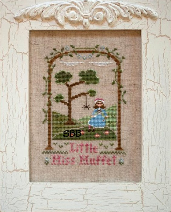 Country Cottage Needleworks Little Miss Muffet