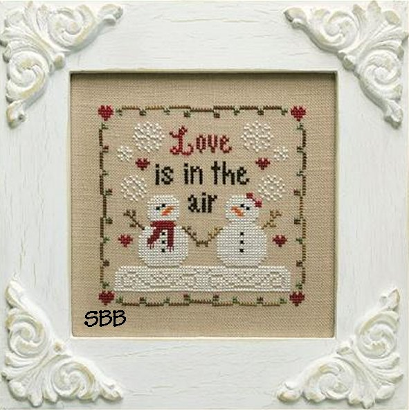 Country Cottage Needleworks Love Is In The Air