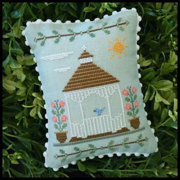 Country Cottage Needleworks Main Street ~ Gazebo