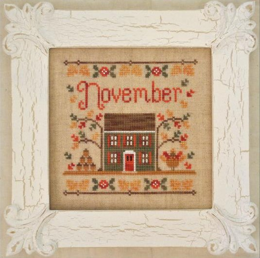 Country Cottage NeedleworksCottage of the Month Series ~ November