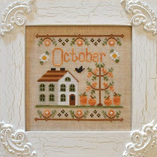 Country Cottage NeedleworksCottage of the Month Series ~ October