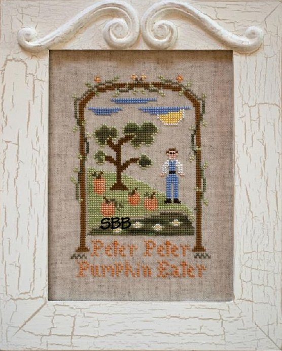 Country Cottage Needleworks Peter Peter Pumpkin Eater