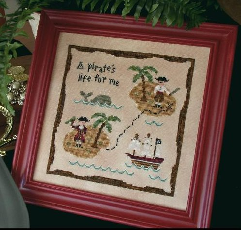 Country Cottage NeedleworksA Pirate's Life