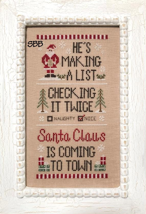 Country Cottage Needleworks Santa's List