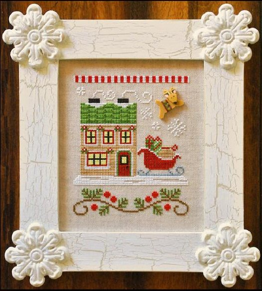 Country Cottage NeedleworksSanta's Village #9 ~ Santa's Sleighworks