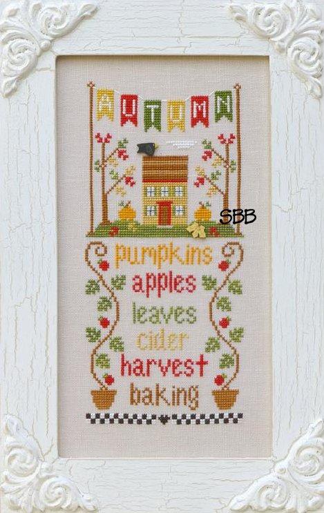 Country Cottage Needleworks Seasonal Celebrations ~ Autumn